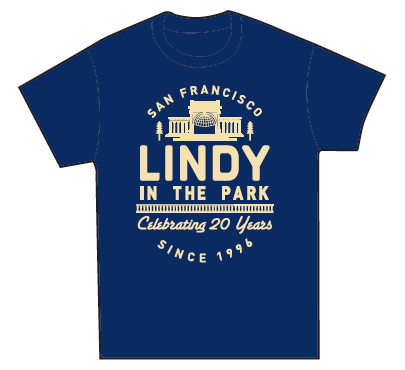 Lindy in the Park 20th Anniversary T-Shirts: Status Update #2