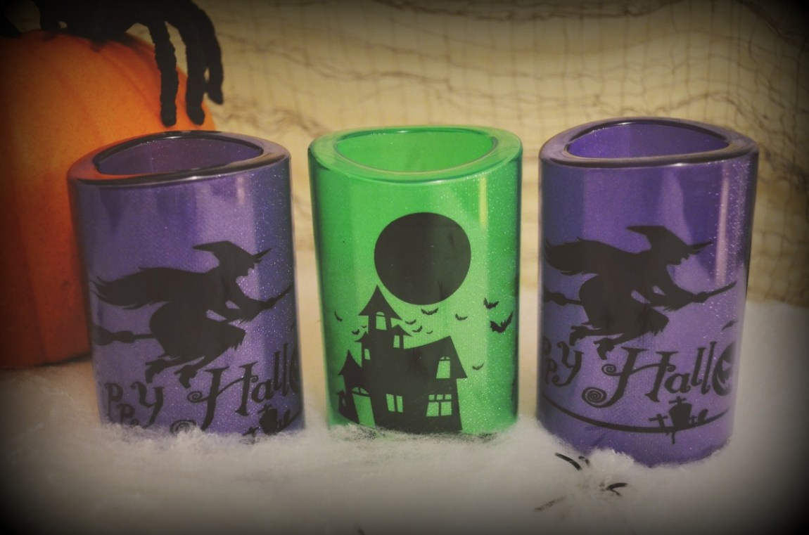 ALDI Halloween Candles