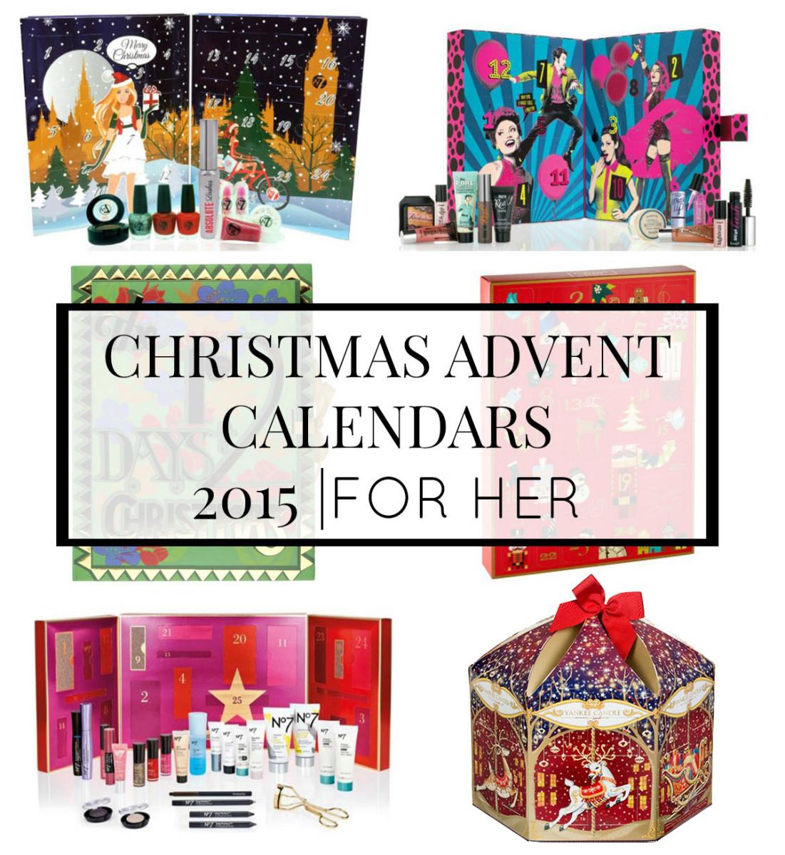 Top Beauty Advent Calendar 2015