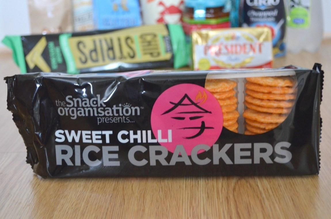Sweet Chilli rice crackers
