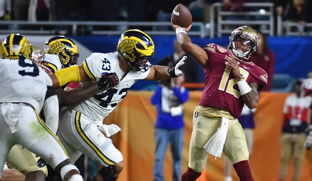 Image result for deondre francois bowl vs michigan