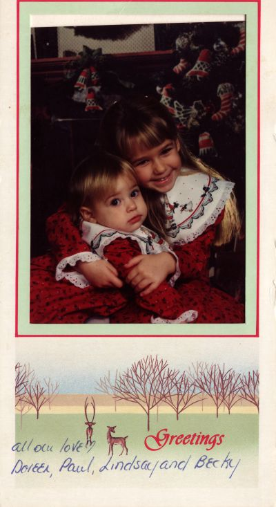 Christmas Card - 1990