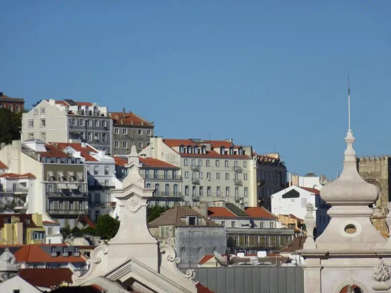 Lisboa, desde a Praça das Belas Artes
