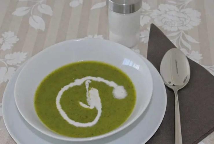 Sopa de Legumes e agriões