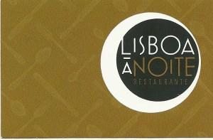 Restaurant Lisboa à noite, Lisboa