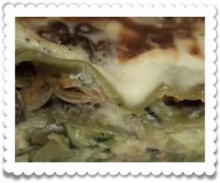 lasagnes végétariennes, part