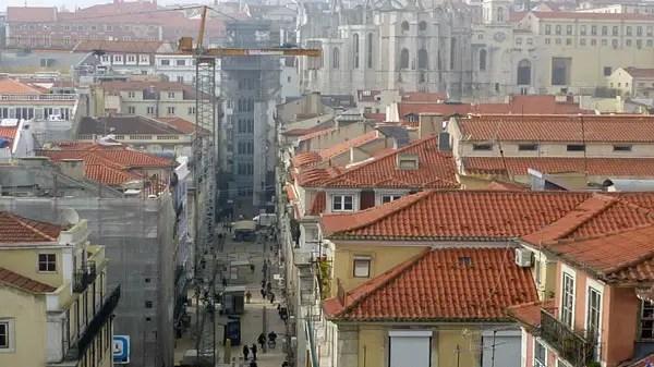 Rua de Santa Justa , Lisbonne