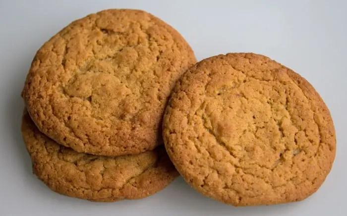 Biscuits au beurre de cacahuètes , peanuts butter cookies
