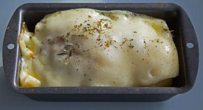 pomme de terre gratinée au four