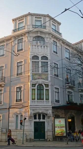 """Immeuble de la """"Tentadora"""", Lisbonne"""
