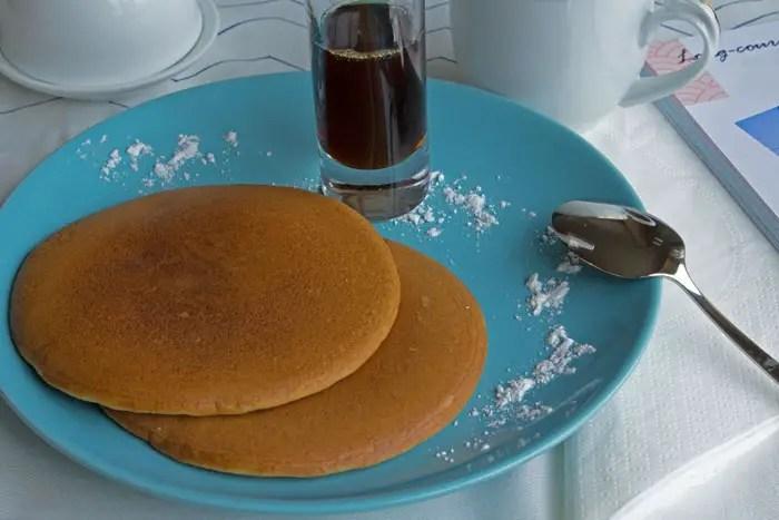 Pancakes pour le petit déjeuner