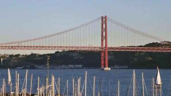 Le Tage depuis le CCB de Belém, Lisboa