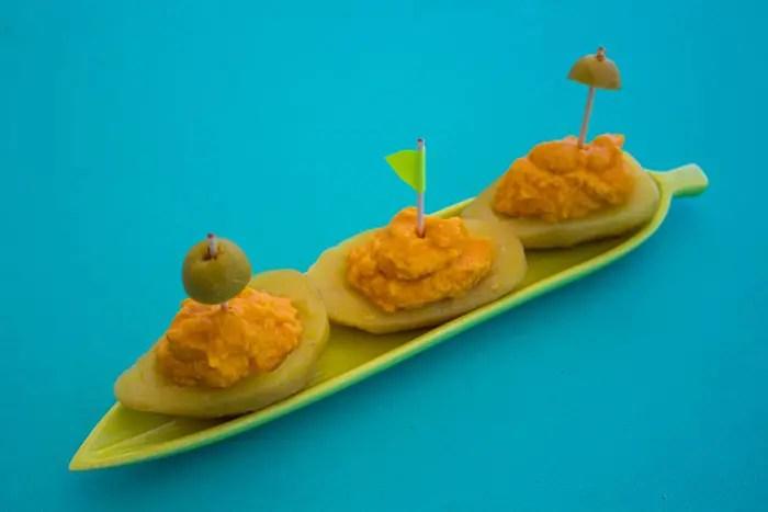 Petits bateaux pommes de terre et carottes