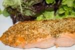 Pavés de saumon au sésame