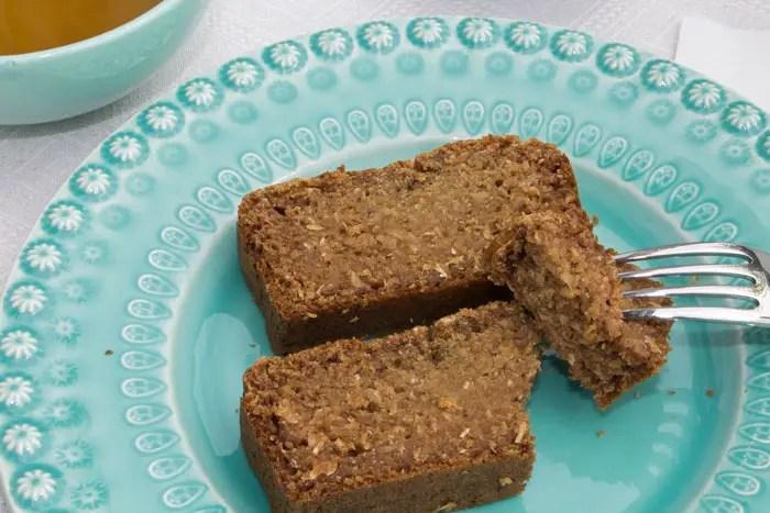 Cake Banane Coco allégé en sucre et matière grasse