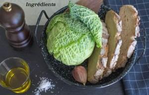 Ingrédients pour Migas de couve