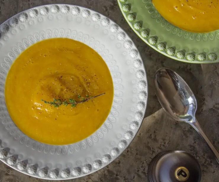 Sopa de inverno com 4 legumes