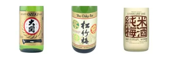 Sakés japonais