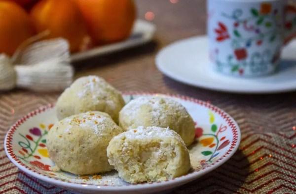 Biscuits aux amandes et à l'orange