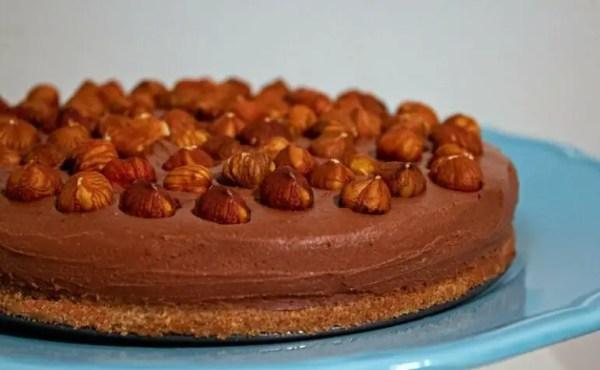 cheese-cake chocolat-noisettes