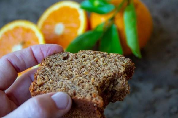 Mon pain d'épices à l'orange