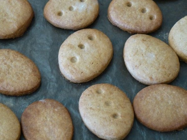 Biscuits de Kiko après cuisson