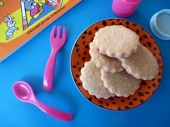 Biscuits de Juliette au beurre de cacahuètes