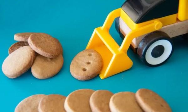 Les biscuits de Kiko au sucre de coco