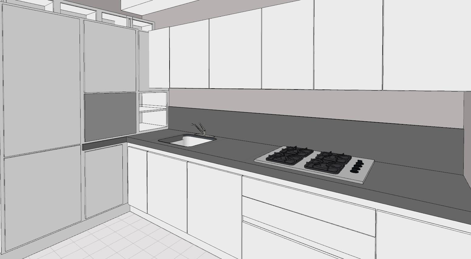 Disposizioni di cucina su due lati adiacenti. Come Arredare Il Cucinino Lineatre Kucita Gli Esperti Dell Arredamento