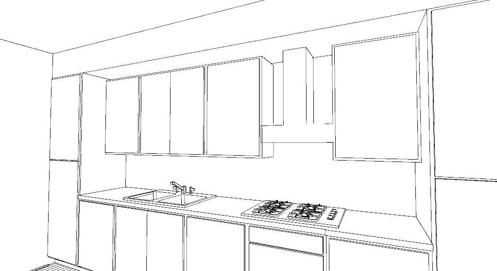 Collegamento tubazione cappa archivi lineatre arredamenti - Cappa cucina laterale ...