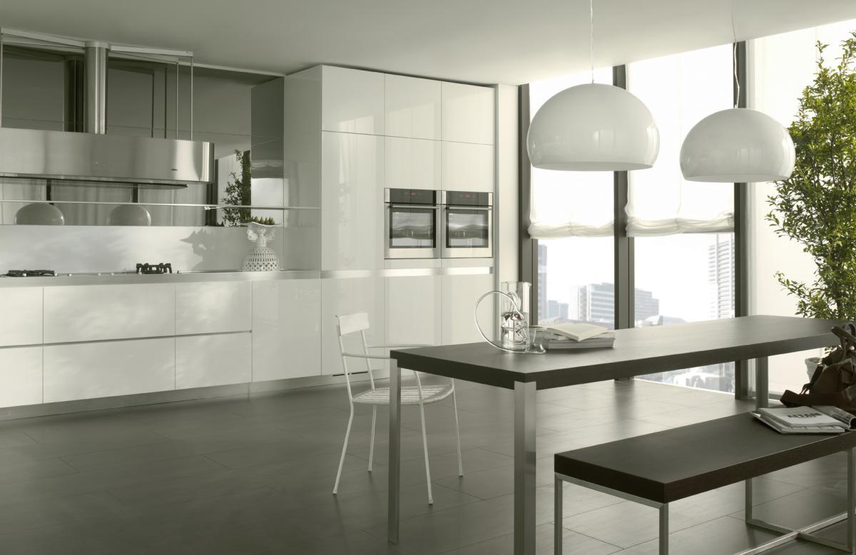 Salvarani Cucine Moderne.La Cucina Bianca Lineatre Kucita Gli Esperti Dell