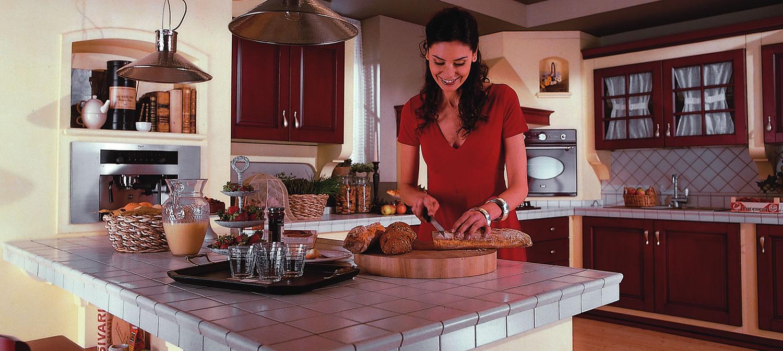 Quale top per la cucina il piano piastrellato michele de biase - Top per piano cucina ...
