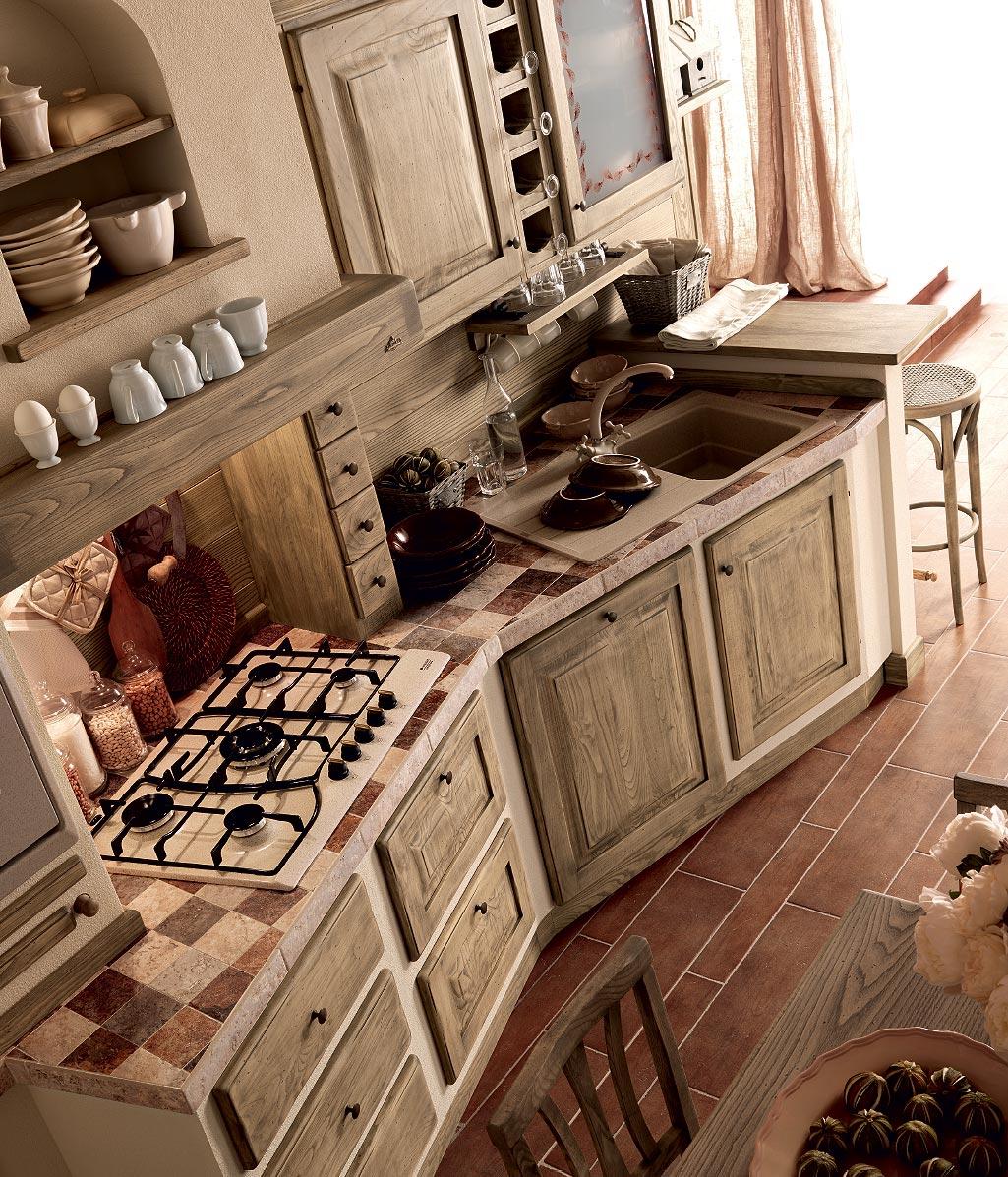 Quale top per la cucina il piano piastrellato michele - Cucine in finta muratura ...
