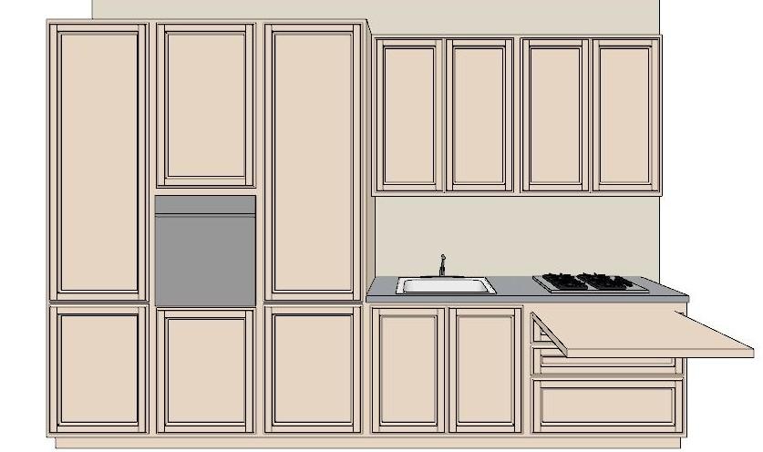 Lineatre arredamenti cucina cm 360