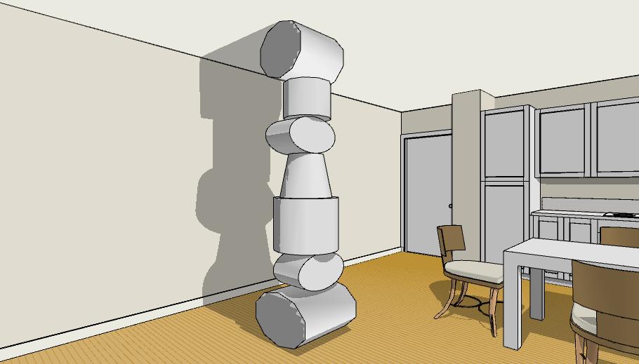 pilastro scultura