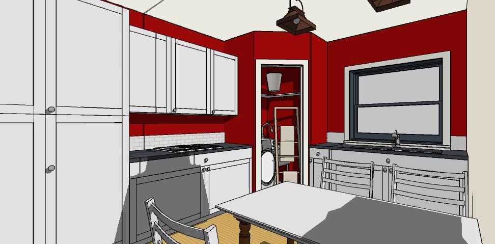 Cucine Con Angolo Cabina.Scopri Come Realizzare Con Facilita Un Ripostiglio In Cucina