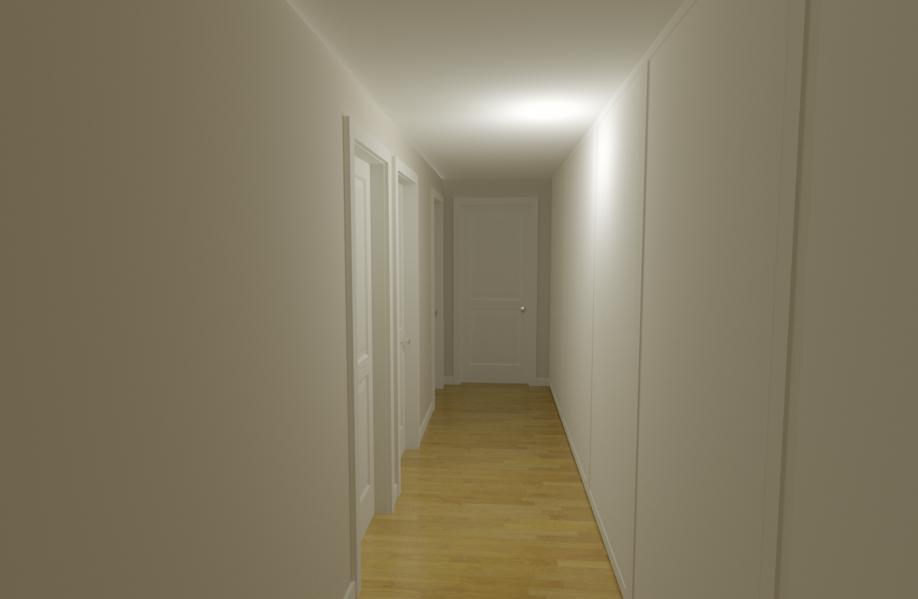 Colore soffitto corridoio una collezione di idee per for Arredare corridoio