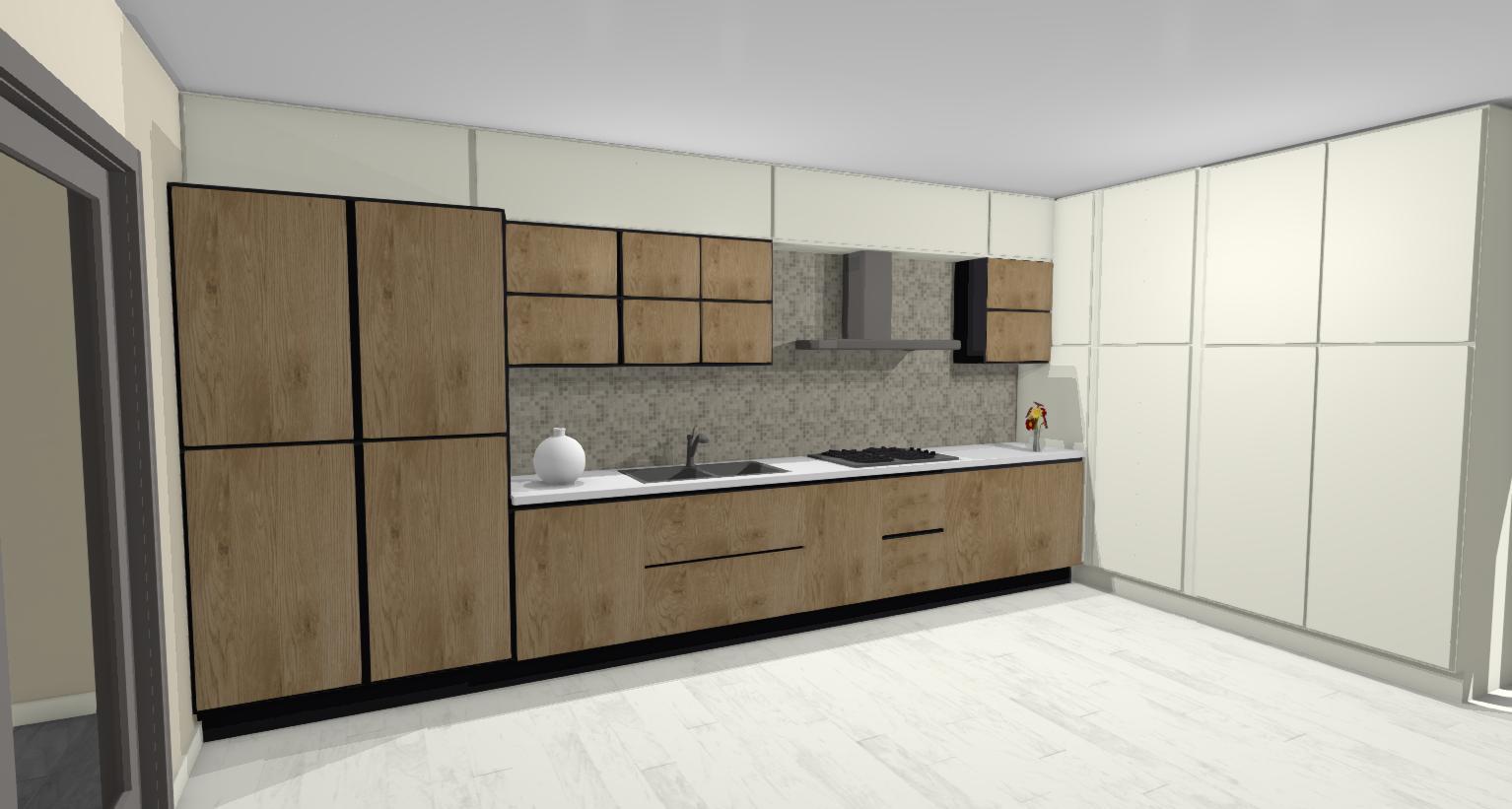 Come Modificare Una Cucina Componibile come trasformare una cucina lineare in angolare - lineatre