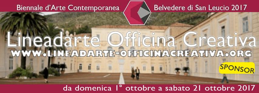 Lineadarte sponsorizza la  la Biennale del Belvedere di San Leucio