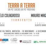 """Angelo Colagrossi – Mauro Magni: """"Terra a terra. Un po' sacro un po' profano"""""""
