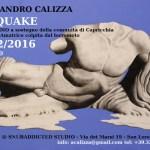 Alessandro Calizza. ARTQUAKE: Open Studio a sostegno della comunità di Capricchia, frazione di Amatrice, colpita dal terremoto