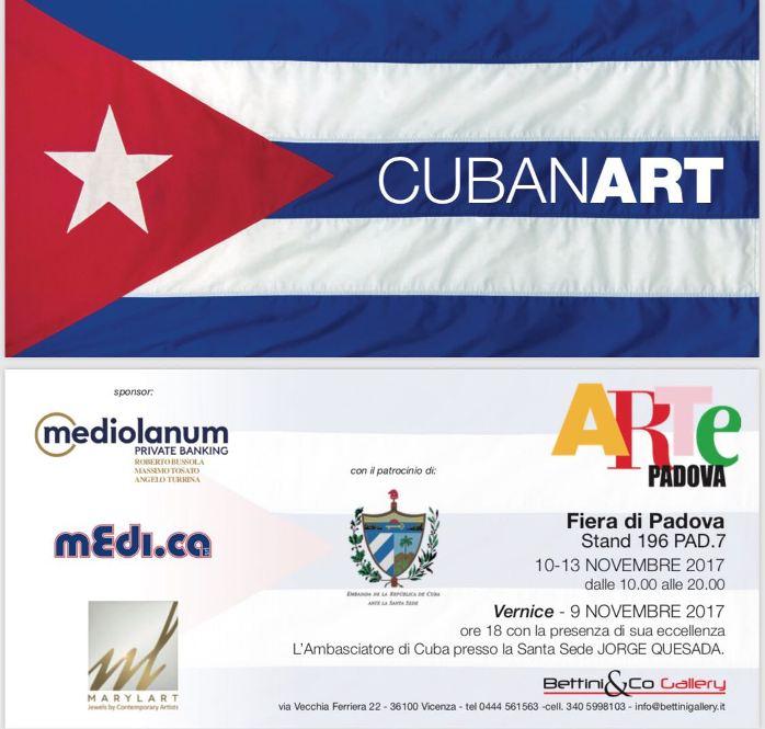 Ad ArtePadova torna l'Arte di Cuba