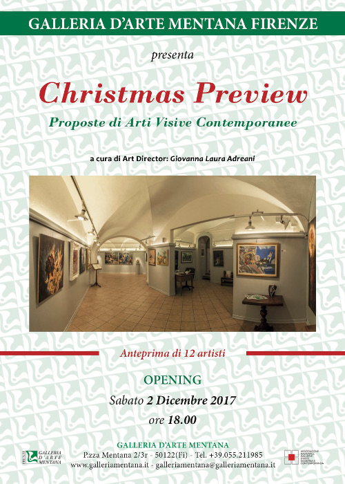 Christmas Preview, Proposte di Arti Visive Contemporanee