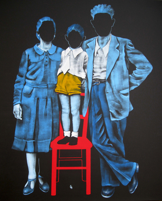 """The family"": personale di Daniela Caciagli alla galleria Mercurio Arte Contemporanea"