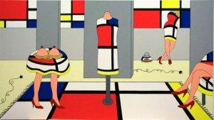 """Giampaolo Atzeni: """"Mondrian è di moda"""""""