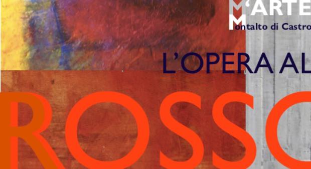 """L'OPERA AL ROSSO. La forza poetica e generatrice del """"Rubedo"""": Eliana Prosperi - Maria Grazia Tata"""