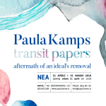 """""""Transit Papers – Aftermath of an Ideal's Removal"""", personale di Paula Kamps"""