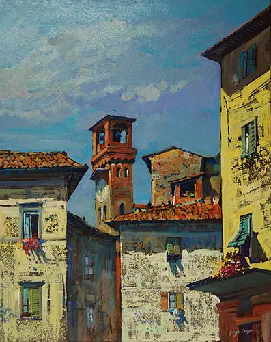 Lucca, en plain air – Giuseppe Landi