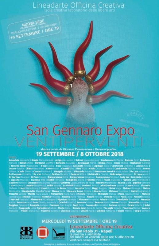 VentiPerVenti San Gennaro Expo – Simposio d'arte e creatività