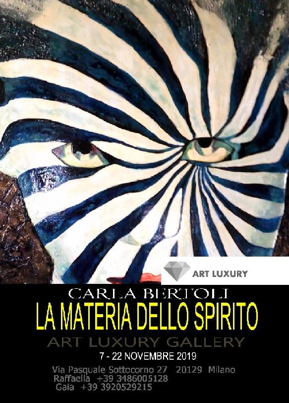 La Materia Dello Spirito Carla Bertoli